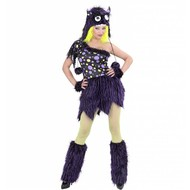 Halloweenkostuum luxe monster meisje