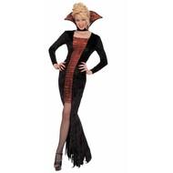 Halloweenkleding: Elegante vampier