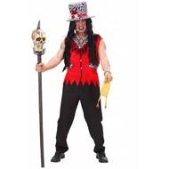Halloweenkleding: Voodoo man