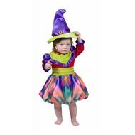 Halloweenkleding: Kleurig heksje