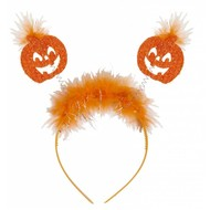Halloweenaccessoires hoofdband pompoenen