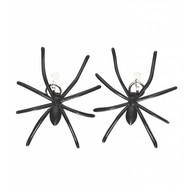 Halloweenaccessoires oorringen spin