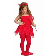Halloweenkleding: Duivelinnenpakje kind