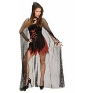 Halloweenkleding: Cape visnet 150 cm