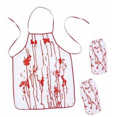 Halloweenaccessoires bloederige slager
