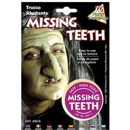 Halloweenaccessoires: Make-up missende tand