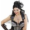 Halloweenaccessoires ketting spinneweb met spinnen
