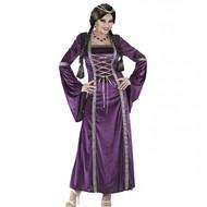 Halloweenkleding middeleeuwse prinses