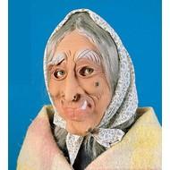 Halloweenaccessoires: Heksenmasker met doek