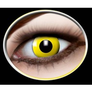 Party-accessoires: Contactlens Geel