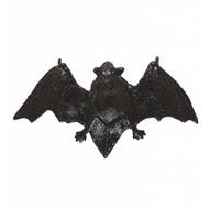 Halloweenaccessoires glitter vleermuis haarclip