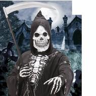 Halloweenaccessoires masker latex/schuim schedel