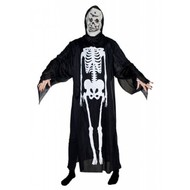 Horror-outfit: Skeletarkostuum met masker