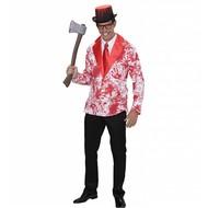 Halloweenkleding bloederige jas