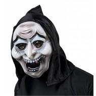 Halloweenaccessoires pvc heksenmasker met kap