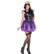 Halloweenkleding Malefizia jurk