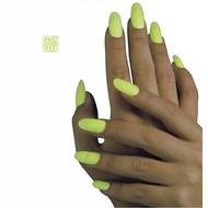 Halloween accessoires nagels lichtgevend in donker verpakt per 12