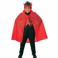 Halloweenkleding: Rode cape (kind)