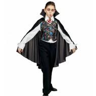 Halloweenkostuum verkleedset vampiervest met cape