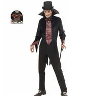 Halloweenkostuum vampier fiberoptisch