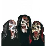 Halloweenaccessoires masker space monster met kraag