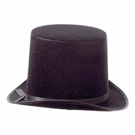 Halloweenaccessoires extra hoge hoed