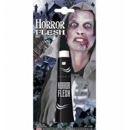 Halloweenaccessoires tube grijs horror vlees