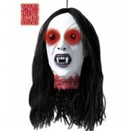 Halloweenartikelen afgehakt hoofd vampier met licht