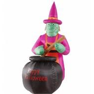 Halloweenartikelen opblaasbare heks
