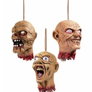 Horroraccessoires: Onthoofde hoofden (15 cm)