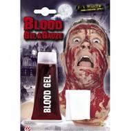 Halloweenaccessoires maxi tube bloedgel met gaas