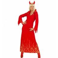 Halloweenkleding: Duivelin glitter