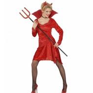 Halloweenjurk: Devilicious woman