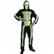 Halloweenkleding: Neon skelet