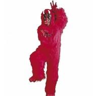 Halloweenkleding kostuum duivel in pluche