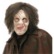 Halloweenmasker: Gebochelde met pruik