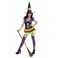 Halloweenkleding: elegante Heks