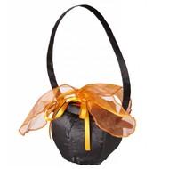 Halloweenaccessoires heksenketel handtas