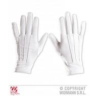Halloweenaccessoires witte handschoenen