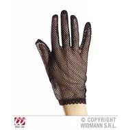 Halloweenaccessoires nethandschoenen zwart