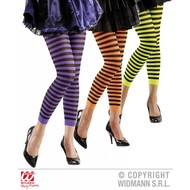 Halloweenaccessoires leggings gestreept