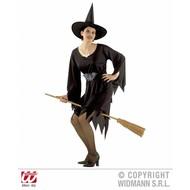 Halloweenkleding Crudelia heksenjurk