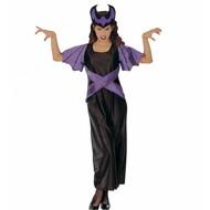 Halloweenkleding dark queen