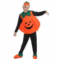 Halloweenkostuum pompoen kind