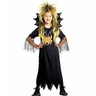 Halloweenkleding: Spinnen-meisje