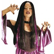 Halloweenaccessoires: Pruik Kasandra