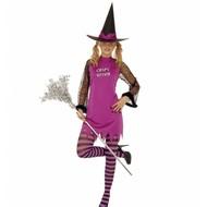 Halloweenkleding spicy witch