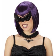 Halloweenaccessoires: Bril vleermuis