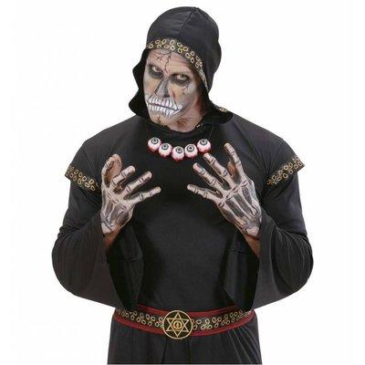 Ketting met uitgestoken ogen voor Halloween