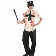 Halloweenkostuum zombie politieman